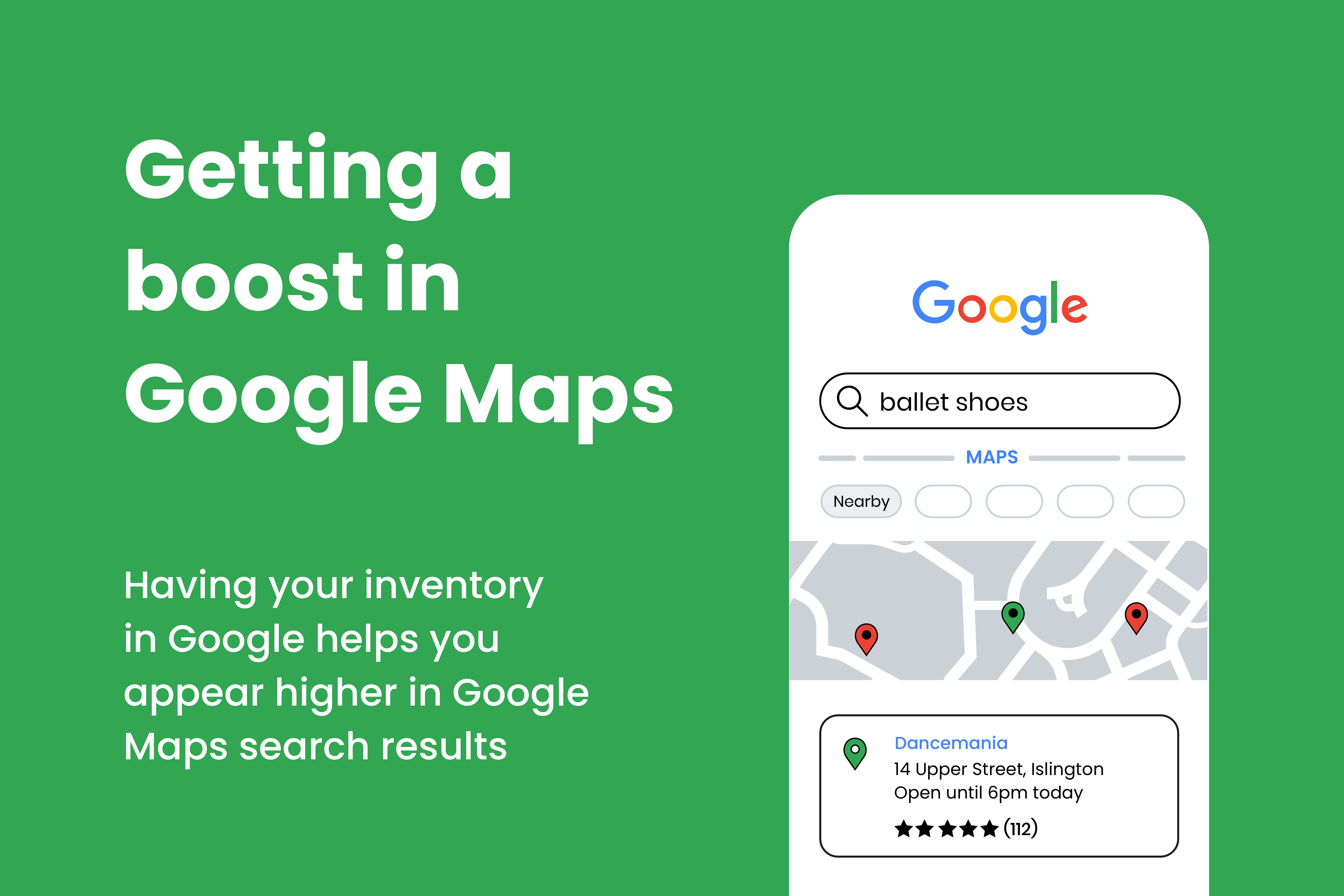 Getting a boost in Google Maps