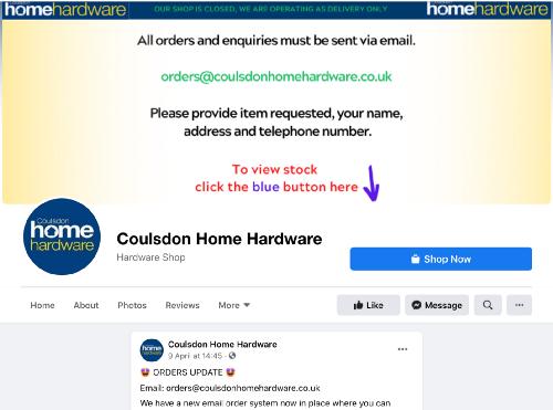 diy shop covid online marketing